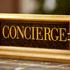 a concierge sign